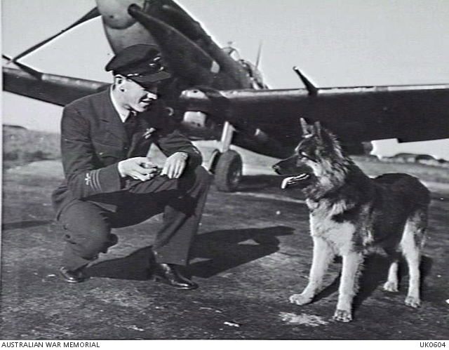 Aviator Mouse Notes – 'Sprog' the 453 SQN Mascot