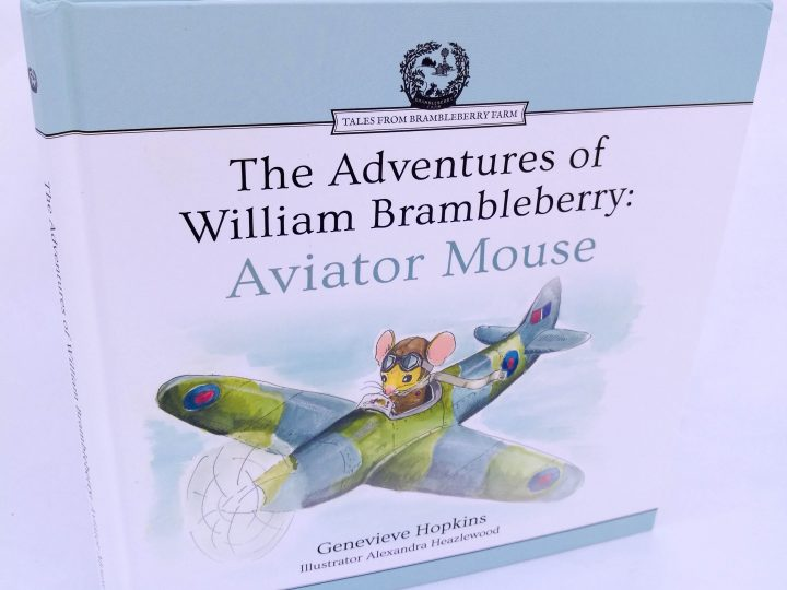New Edition of 'The Adventures of William Brambleberry: Aviator Mouse'!